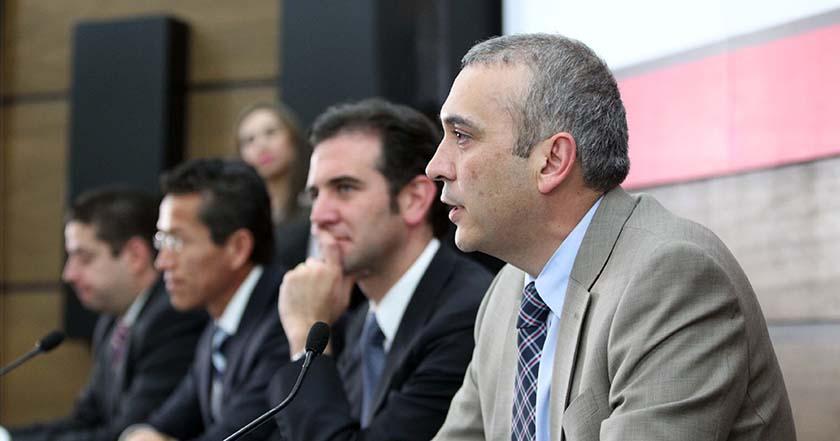consejeros del Instituto Nacional Electoral INE