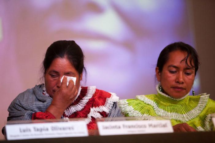 PGR admite inocencia de indígenas encarceladas de 'secuestrar policías federales'