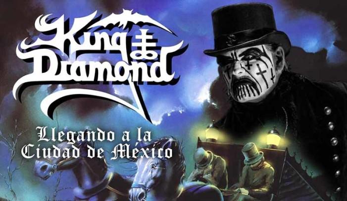 King Diamond por primera vez en México