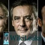 Wikileaks revela los correos de los presidenciables franceses