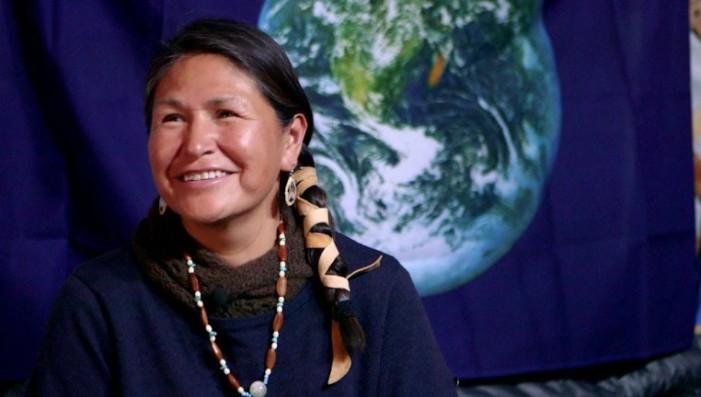 Mujer líder indígena de Standing Rock, en México para apoyar lucha por la vida