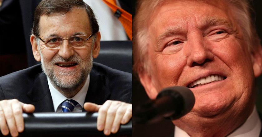 Presidente español mantiene segunda conversación telefónica con Trump