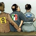 PRI, PAN y PRD se reparten como botín recursos de la Cámara de Diputados
