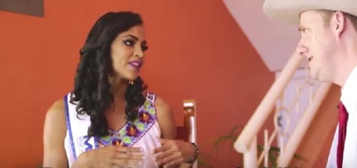 Samantha Leyva, la Miss afro se entrevistó con Joe T. Hodo