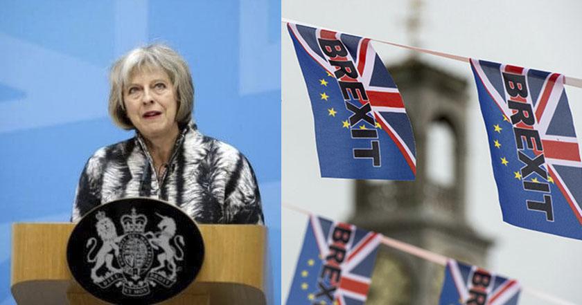 theresa may brexit reino unido unión europea partido conservador