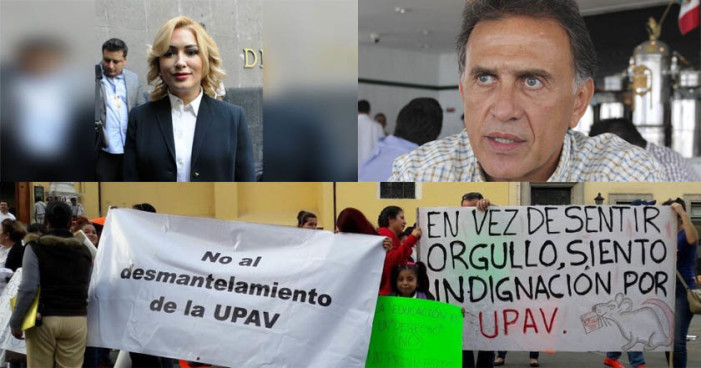 Rectora de UPAV adeuda pagos a maestros y causa descontento en alumnos