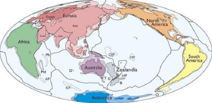 Zealandia el nuevo continente en la Tierra