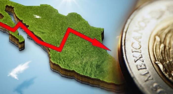 Economía mexicana cae en lista del FMI; la peor posición en 21 años