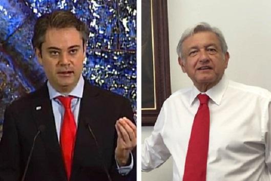López Obrador y Aurelio Nuño se dan en Twitter