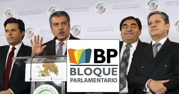 Barbosa y ex senadores del PRD forman nuevo grupo Parlamentario: BP