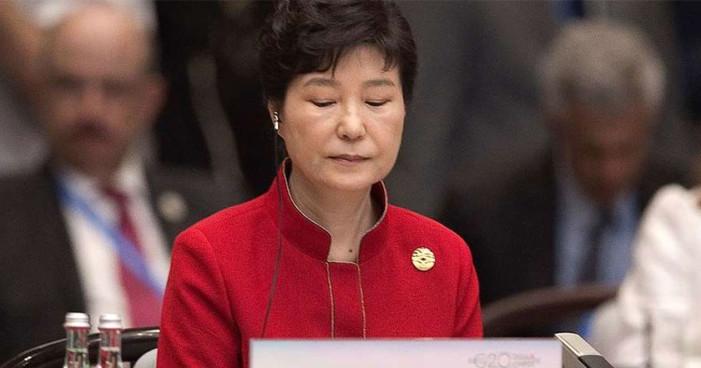 Corea del Sur destituye a su presidenta, Park Geun-hye