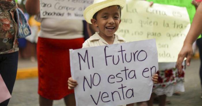 Ejidatarios de Chocholá, Yucatán, resisten engaños y ataques de cementera