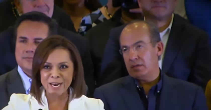 Felipe Calderón Josefina Vázquez Mota candidata Estado de México por el PAN