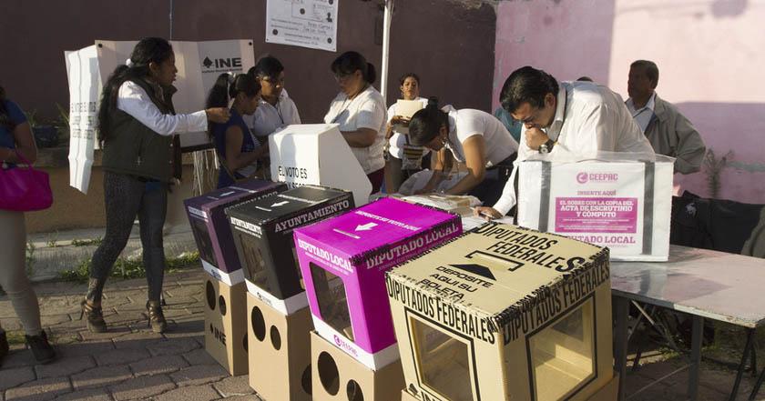 Hombres 20-29 años ciudades mexicanos que menos votan elecciones ine casillas