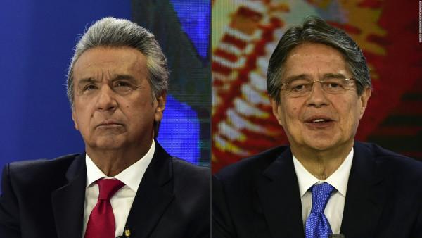 Lasso, candidato de la derecha en Ecuador, magnate de paraísos fiscales