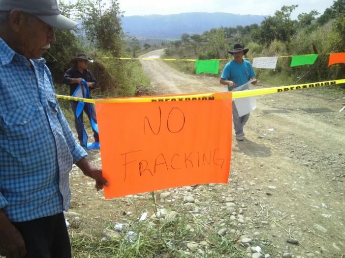 Exigen frenar uso de aguas nacionales en Fracking