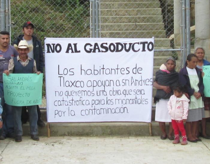 Amenazan a opositores al gasoducto Tuxpan-Tula con uso de la fuerza