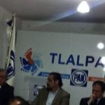 PAN denuncia robo en sus oficinas de Comité Delegacional en Tlalpan