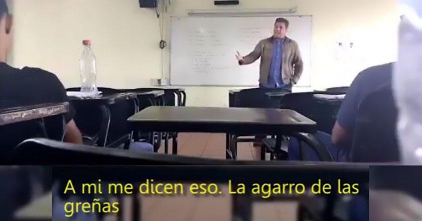 Profesor de Prepa 10 muestra todo lo que está mal con la misoginia