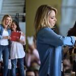 Angélica Rivera entrega 'apoyos' en antesala de campaña en Edomex
