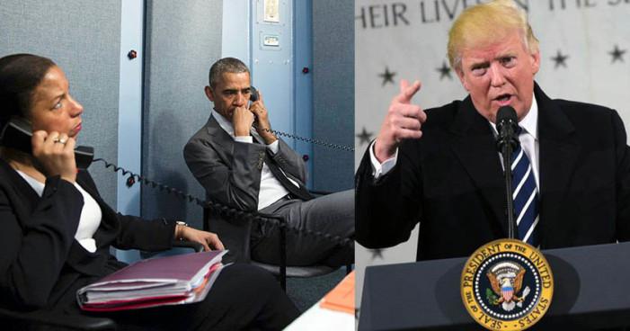 Revelan que Obama estuvo vigilando a Trump después de las elecciones