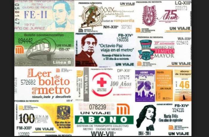 Boletos antiguos del metro son vendidos hasta en 3 mil pesos