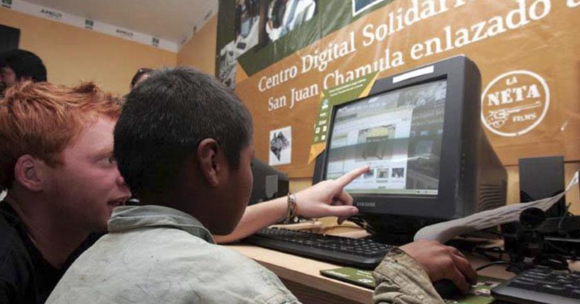 computadora internet hogares mexicanos educación escuelas