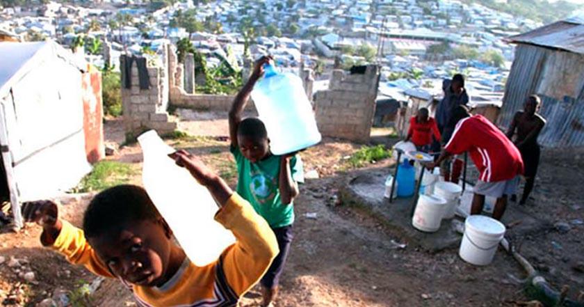 día internacional del agua haití agua contaminada crisis