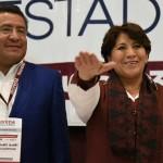 Ratifican a Delfina Gómez candidata de Morena a gubernatura del Edomex