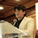 Delfina Gómez exige parar dávidas para 'beneficiar al PRImo' de Peña en el Edomex