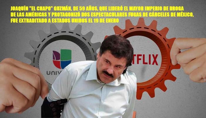 Univisión y Netflix producirán serie sobre 'El Chapo'