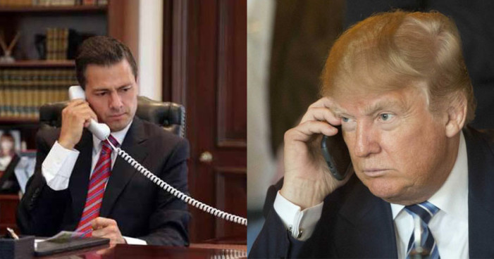 Peña Nieto 'me hizo el cumplido más alto' por evitar entrada de migrantes a EU: Donald Trump