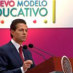 EPN presenta nuevo modelo educativo, 'es un momento histórico', dice