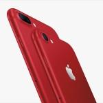 Apple lanza iPhone 7 rojo, para la lucha contra el SIDA