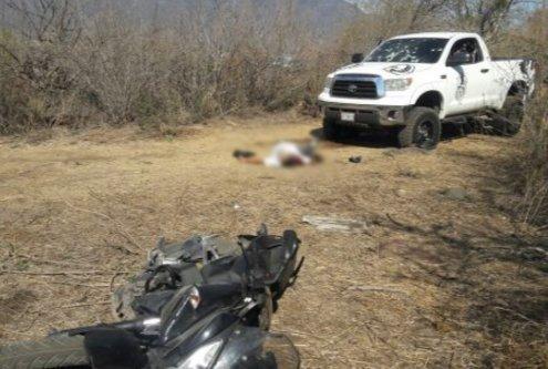 Mueren 5 tras enfrentamiento con Fuerza Única en Jocotepec