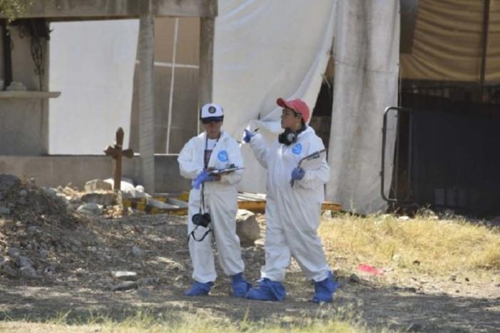 Al menos 50 restos óseos fueron hallados en Jojutla
