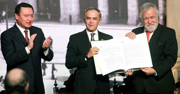 Ahora el Senado impugna la Constitución de Ciudad de México