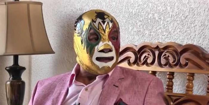 'Mil Máscaras', una leyenda viviente de la lucha libre