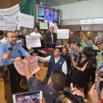 Reporteros repudian en el Congreso el asesinato de la corresponsal de La Jornada