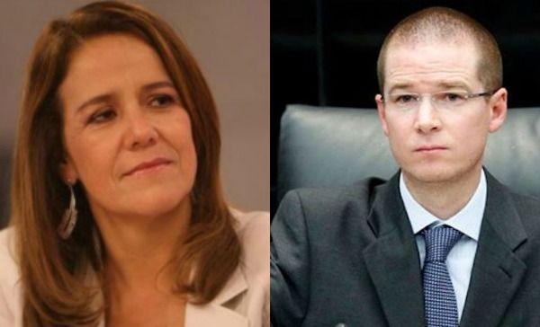 Anaya llama a dialogar a Margarita Zavala, ella le reprocha de dividir al PAN