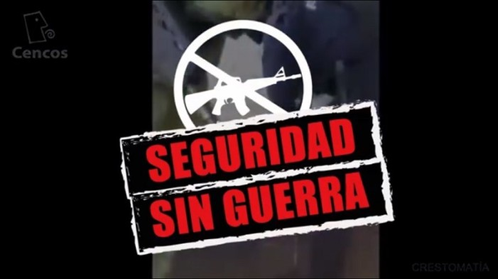 Con video responden a Peña sobre discurso de las Fuerzas Armadas (VIDEO)