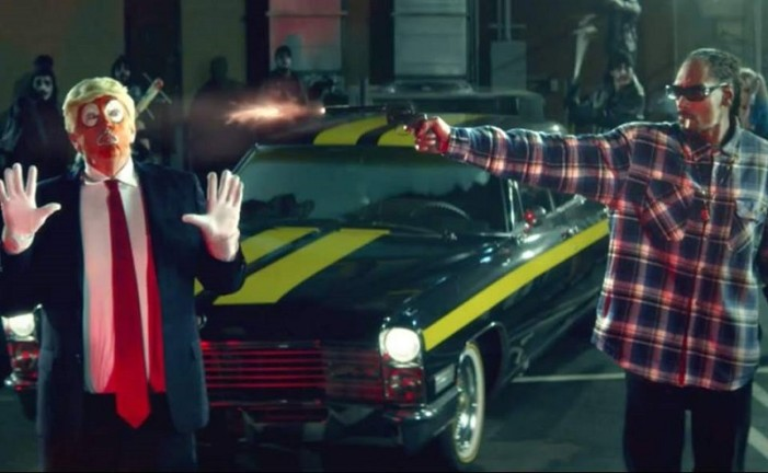 Snoop Dogg se burla de Trump en video musical