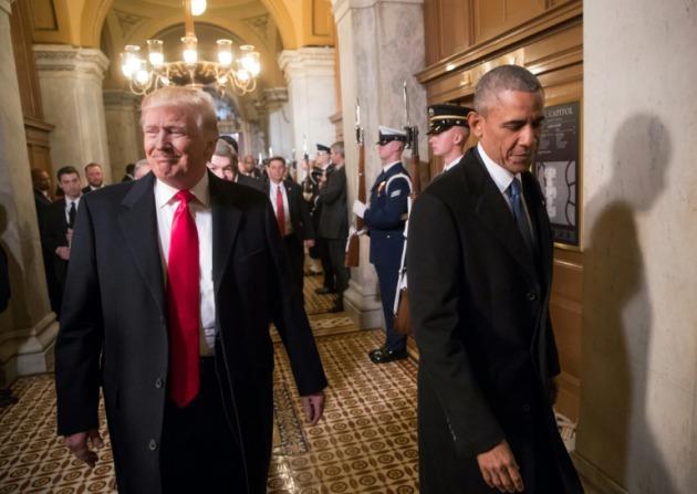 Donald Trump acusa a Obama de espiarlo durante la campaña