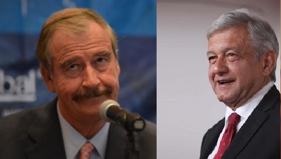 Vicente Fox agradece a AMLO 'no llevarse al PRD'
