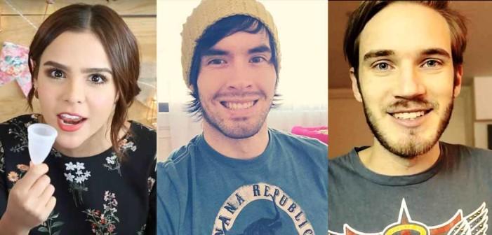 Los youtubers más exitosos del mundo