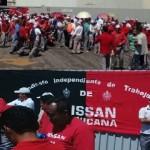 Huelga estalla en Nissan Cuernavaca