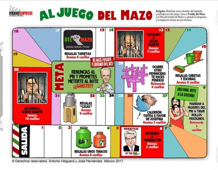 Al juego Del Mazo (cartón)