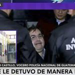 Así fue detención de Javier Duarte según la Policía de Guatemala (Video)