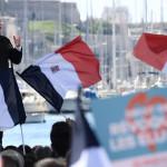 Candidato de izquierda repunta en elecciones de Francia
