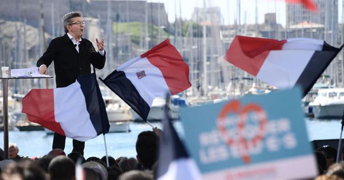 Derecha francesa compara a presidenciable de izquierda con Chávez
